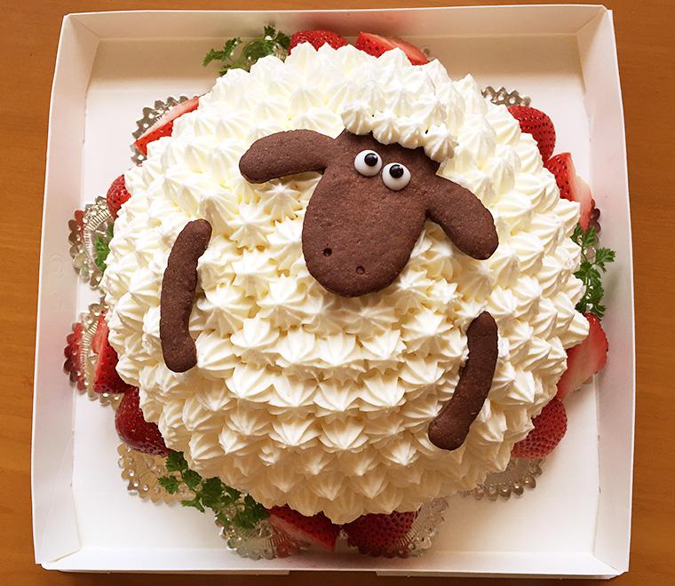 ひつじのケーキ