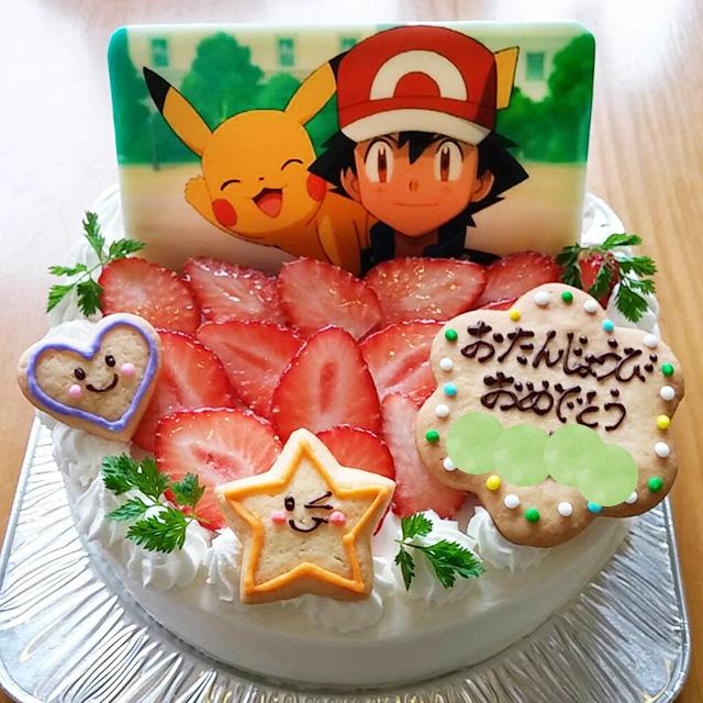 【129】キャラクターデコレーションケーキ